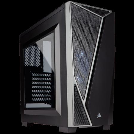 Gabinete Corsair 650D Obsidian - Negro - USB 3.0 - 3 Ventiladores - S/Fuente  - CC650DW-1